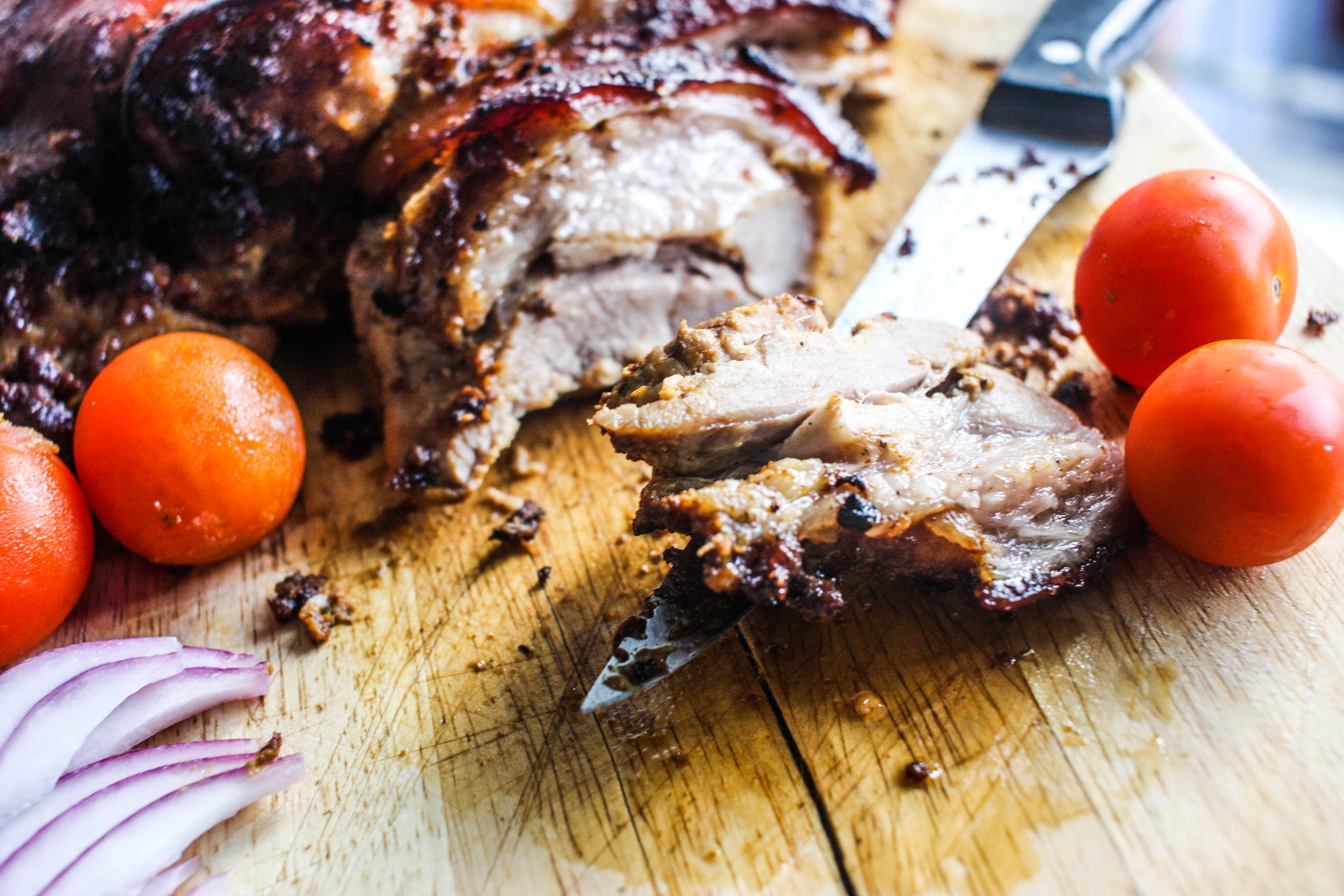 African food myweku tastes suya can be much more especially on domedo roast pork belly forumfinder Choice Image